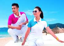 羽毛球服男女上衣速干比赛服运动服 吸湿排汗